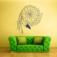Wall Decal Vinyl Sticker Decals Dream Catcher Dreamcatcher Ethnic Native (z1385)