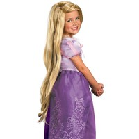 Disney Tangled Rapunzel Wig - Kids' (Yellow)