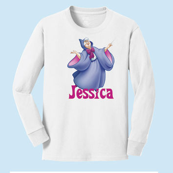 Disney's Fairy Godmother personalized long sleeve T shirts