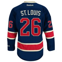 Martin St. Louis New York Rangers Reebok Premier Replica Alternate NHL Hockey Jersey
