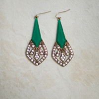 Minty Dangle Earring