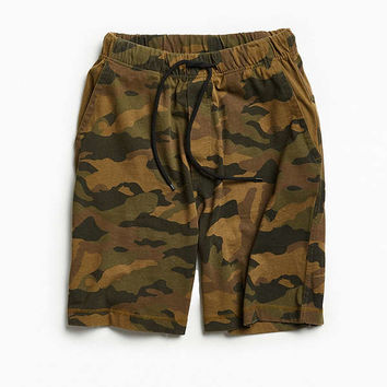 UO Washed Camo Baggy Knit Short | Urban Outfitters