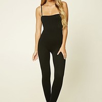 Seamless Ribbed Jumpsuit