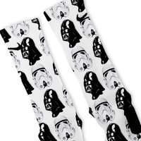 Star Wars Dark Side Custom Nike Elite Socks