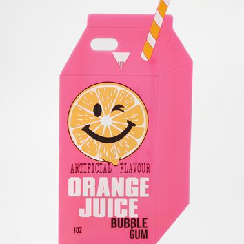 Skinny Dip Orange Juice Silicone iPhone 5 Case