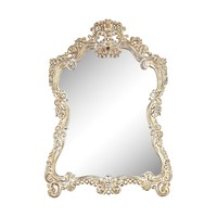 6100-024 Regence Composite Frame Wall Mirror In Belgian Cream
