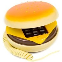 1 X Hamburger Cheeseburger Burger Phone Telephone IN JUNO(Telephone)