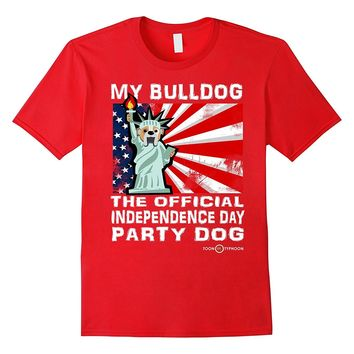 My English Bulldog | Official Independence Day Party Dog