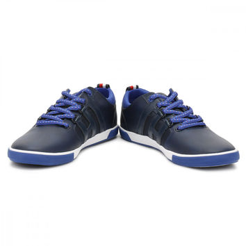 Tommy Hilfiger Mens Tommy Navy Milton 1A Trainers
