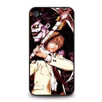 DEATH NOTE RYUK AND LIGHT iPhone 4 / 4S Case Cover