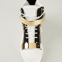 Giuseppe Zanotti Design 'lindos Vague' Hi-top Sneakers - Cube Menswear - Farfetch.com