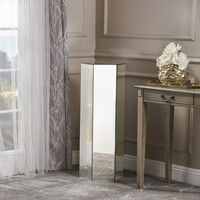 Seranade Mirror Finished Stand Table