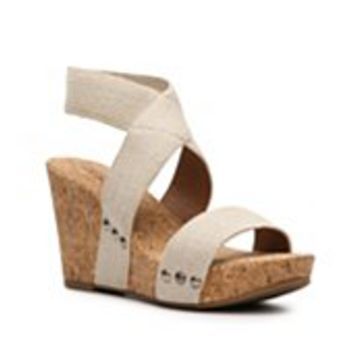 Lucky Brand Marinah Wedge Sandal