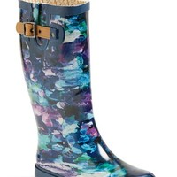 "Women's Chooka 'Deep Sea' Waterproof Rain Boot, 1"" heel"