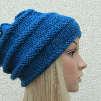 Shop Knitted Cloche Hat on Wanelo 3d89db68fbdd