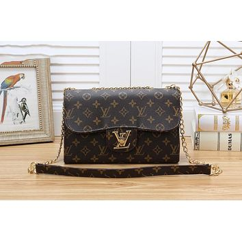 Louis Vuitton LV Newest Women Shopping Bag Leather Crossbody Satchel Shoulder Bag