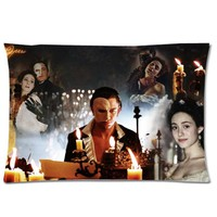"""Musical The Phantom of the Opera Background Printed Solft Pillowcase/Pillow Case Cover/Pillowslip (Size:30""""X20"""",Two Side)"""