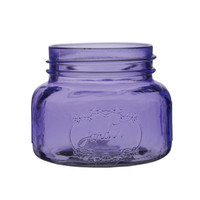 Purple Mini Mason Jar Wedding 16 oz Glass Mason Jar Decor Bulk Mason Jars Mason Jar Centerpiece