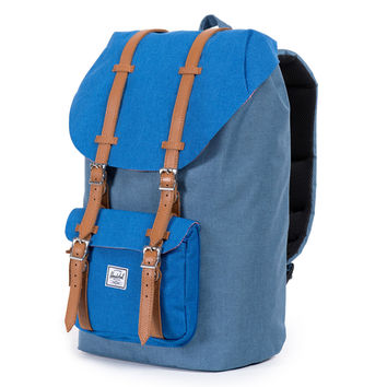 Herschel Supply Co.: Little America Backpack - Cobalt Crosshatch - Cobalt Crosshatch / One