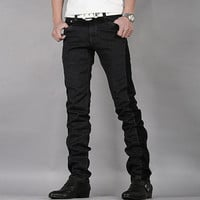 New Style Slim Fit Men Casual Jeans