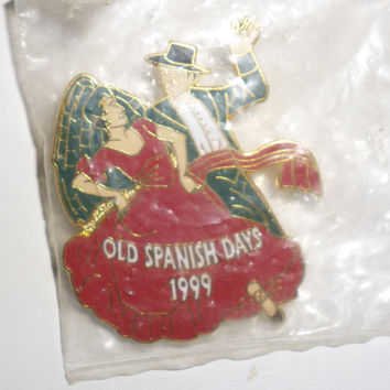 Old Spanish Days 1999 Dancers Pin