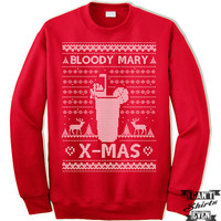 Bloody Mary X-Mas Ugly Christmas Sweater