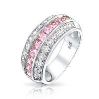 Bling Jewelry Delightful Pink Band