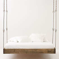 Anthropologie - Barnwood Hanging Bed