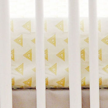 Gold Triangle Crib Sheet
