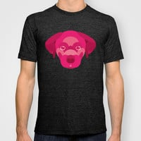 Pink Puppy T-shirt by Natalie Ryder
