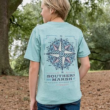Youth Branding Compass Tee by Southern Marsh