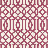 Trellis Wallpaper - Pink