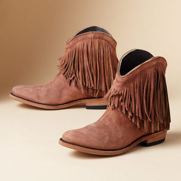 SANTA FE FRINGE BOOTS         -                  Boots         -                  Footwear & Bags                       | Robert Redford's Sundance Catalog