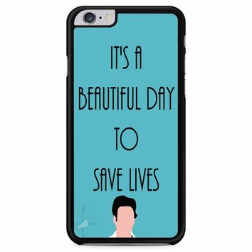 Greys Anatomy Shepherd iPhone 6 Plus / 6s Plus
