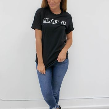 Killin' It Tee - Black