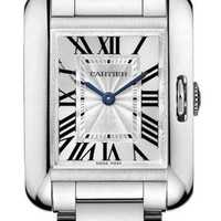 Cartier - Tank Anglaise White Gold