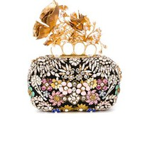 Alexander Mcqueen 'knuckle' Flower Box Clutch - Eraldo - Farfetch.com