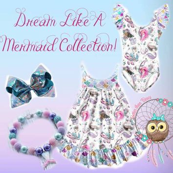 "Extras ""Dream Like a Mermaid"" Madeline Kate Playwear! From Preorder 0755* ITEM IS NOT READY TO SHIP"