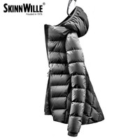skinnwille 2017 fashion high quality 90 white duck down coat women winter down jacket winter coat women womens winter jackets