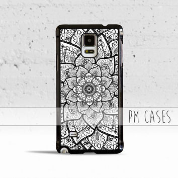 Mandala Flower Case Cover for Samsung Galaxy S3 S4 S5 S6 Edge Plus Active Mini Note 1 2 3 4 5
