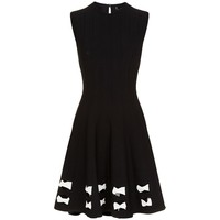 Alexander McQueen Cut-Out Hem Knitted Dress | Harrods.com