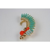 AZTEC EAR CUFF TURQUOISE - Jewelry - Accessories