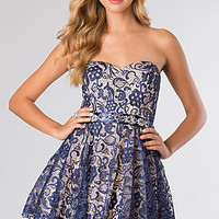 Short Lace Party Dress by B Darlin