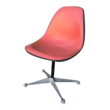 Pre-owned Original Herman Miller Eames Side Chairs - Orange