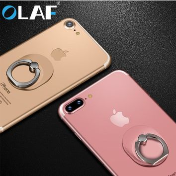 OLAF Spinner Ring Stand 360 Degree Rotation 180 Folding Rotary Phone Holder Finger Grip Desktop Mount Mobile Phone Kickstand Pop