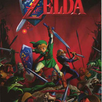 Legend of Zelda Video Game Poster 24x36