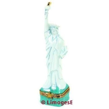 Statue Of Liberty Limoges Box