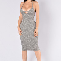 Amaya Dress - Black/White