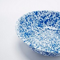 Enamel Splatter Basin in Blue - Urban Outfitters