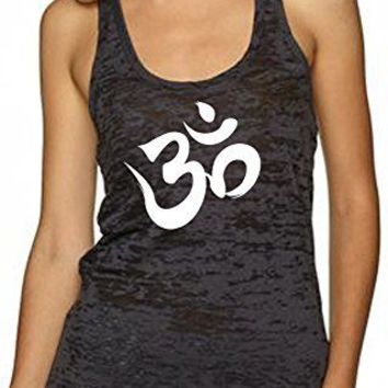 Women's Tank Top Yoga, Aum, Ohm, India Symbol - XS/S/M/L/XL Multi Colors
